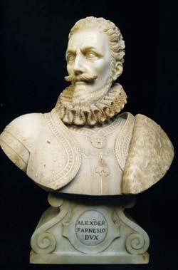 「アレッサンドロ・ファルネーゼ公爵の胸像」
