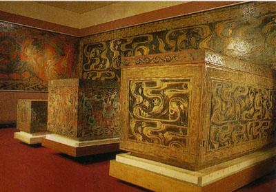 馬王堆一号漢墓の木棺