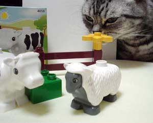 レゴデュプロ 牛と羊セット