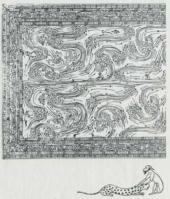 黒地彩絵棺