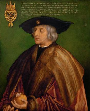 「皇帝マクシミリアン?世の肖像」