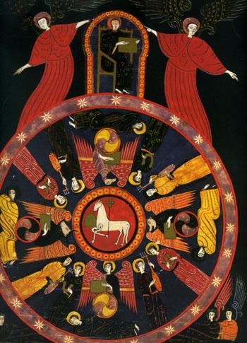 ファクンドゥス写本による子羊のヴィジョン