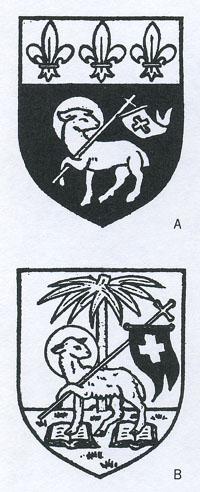 パスカル・ラムを描いた紋章