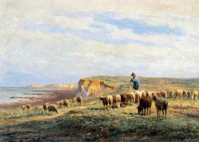 「羊の群れ」