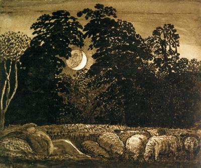 「眠る羊飼い」