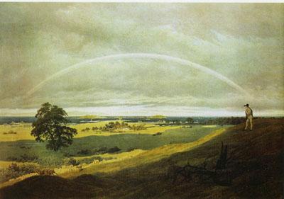 「虹のある風景」