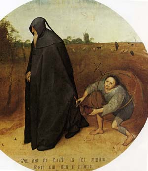ブリューゲル「人間嫌い」