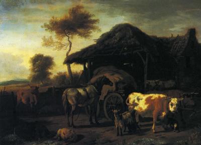 「農家の生活」