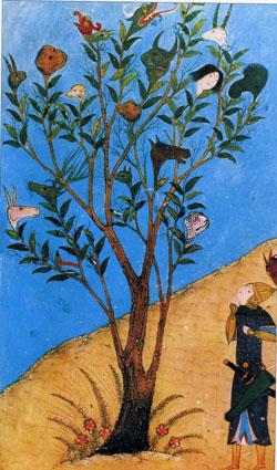 アレクサンダー大王と「おしゃべりの樹」
