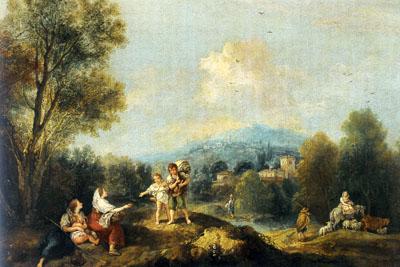 「アルカディア的風景」