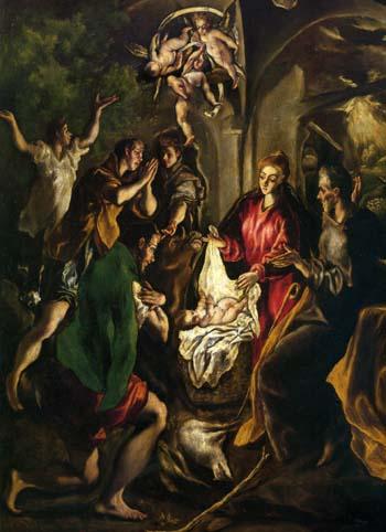 エル・グレコ 「羊飼いの礼拝」