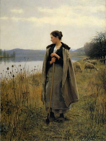 「ロルボワーズの羊飼いの女」