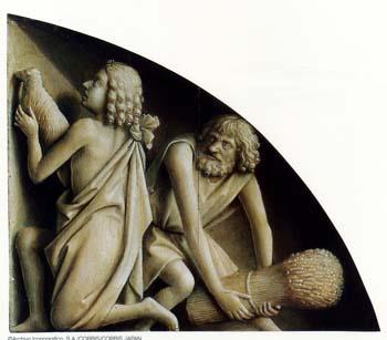 ヘント祭壇画「カインとアベル」