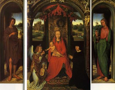 三連祭壇画