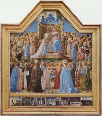 「聖母戴冠」