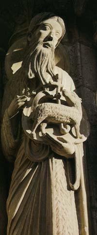 洗礼者ヨハネと子羊