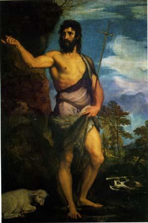 「洗礼者聖ヨハネ」