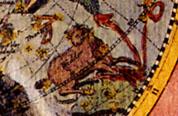 ボーデの古星図(部分)