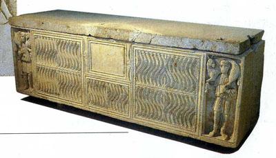 「よき牧者」の石棺