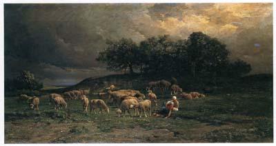 ジャック 「牧場の羊」