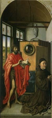 「寄進者ヴェルルと洗礼者ヨハネ」