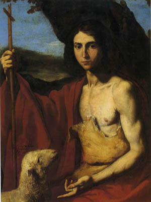 ホセ・デ・リベラ 「洗礼者ヨハネ」 | ひつじnews
