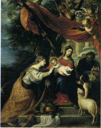 「聖女カタリナの神秘の結婚」