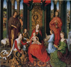 「聖カタリナの神秘の結婚」