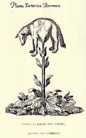 「スキタイの子羊」挿画