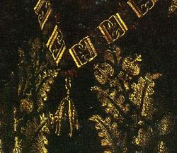 「ボードワン・ド・ランノワの肖像」(部分)