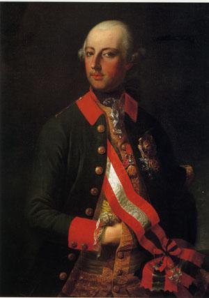 「皇帝ヨーゼフ2世」