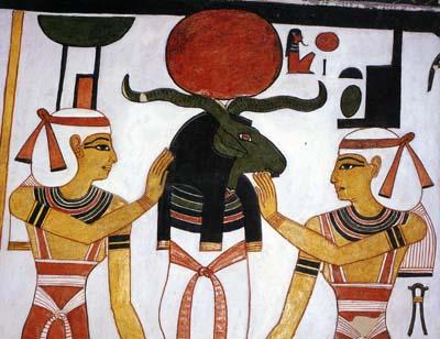 ネフェルタリ王妃墓壁画