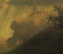 「杖に倚る羊飼いの女」(部分)