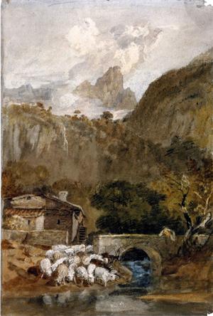 「クリューズ渓谷の小針峰、フランス」