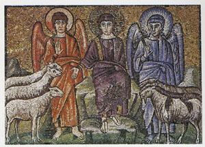 羊と山羊を分けるキリスト