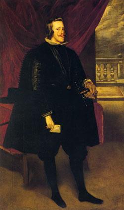「フェリペ4世の肖像」