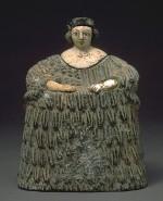 ひつじ衣装の地母神像