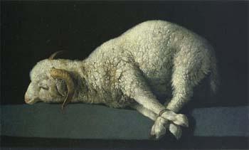 スルバラン「神の仔羊」